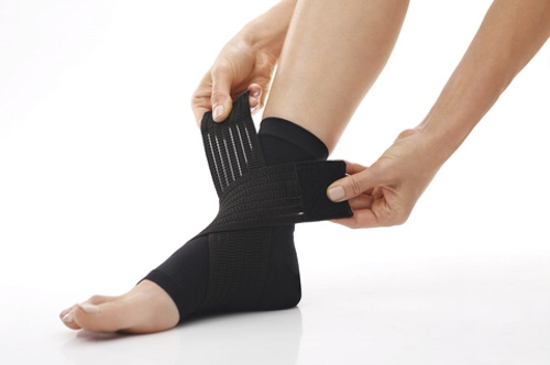 Foot injury, stabilizer ankle